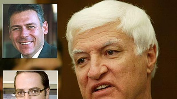 'They're courageous' .. independent Queensland MP Bob Katter has applauded the departure of Aidan McLindon and Rob ...