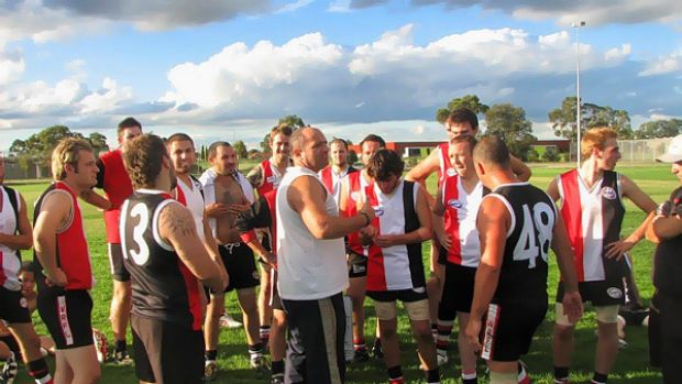Thrashed ... the North Sunshine Roadrunners
