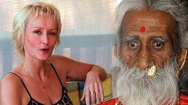 """Prahlad Jani, the yogi who says he has had nothing to eat for 70 years and Ellen Greve, a """"breatharian"""" who called ..."""
