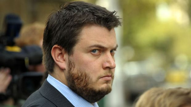 Cameron Tweeddale Smith outside court last month.