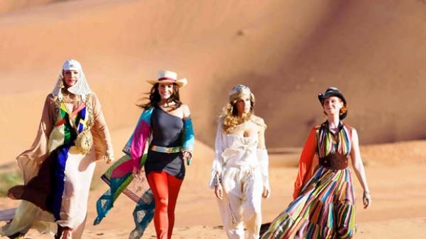 Striding ahead ... desert romp appealing to Australian audiences.