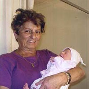Tragedy ... grandmother Mary Touma died from head injuries after being pushed over in the street.