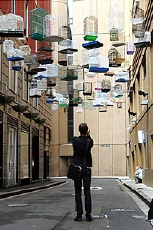 Brisbane's alleyways will be turned into canvases.