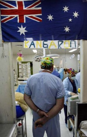 Australia does provide enormous aid in the region, such as medical help in PNG, but poverty is a global problem and ...