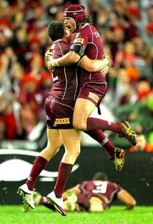 Johnathan Thurston and Greg Inglis.
