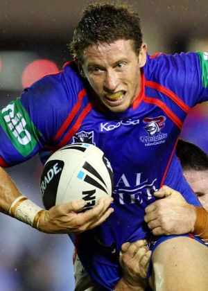Kurt Gidley will be dangerous at halfback for the Knights.