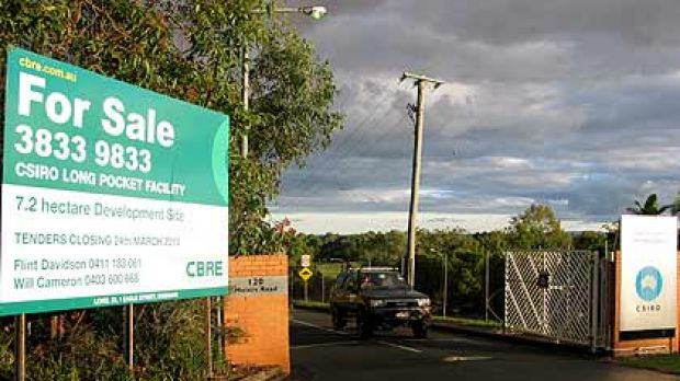 The CSIRO site on Meiers Rd in Indooroopilly.