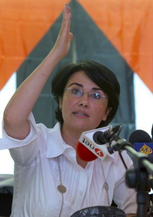 Israeli Knesset member, Haneen Zoabi, who was on board the Marmara ship when it was raided by Israeli Navy fighters, has ...