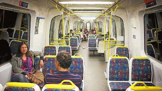 Violence on the increase in Melbourne's trains and train stations.
