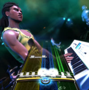 Rock Band 3 features keyboards