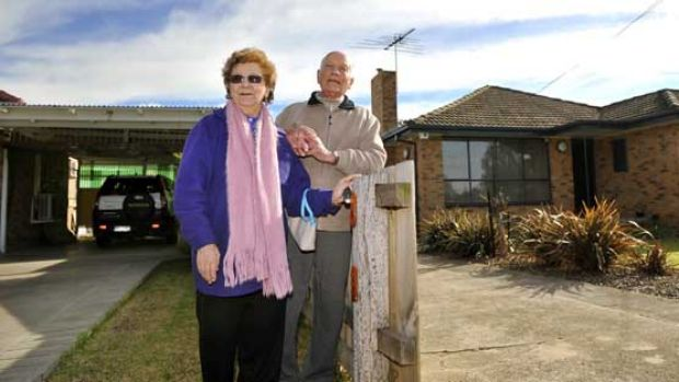 Altona neighbours Joy and Eric Vincent.