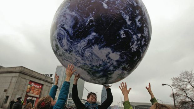 'Human interference with the climate system is occurring.'