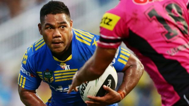 Back in form: Sandow was strong against Penrith.