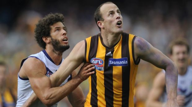 Dual talent: David Hale is that rare commodity, a forward-ruckman.