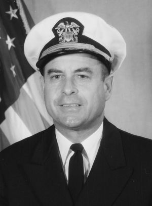 """Commander Jeremiah Denton, who blinked out the word """"torture"""" in Morse code."""