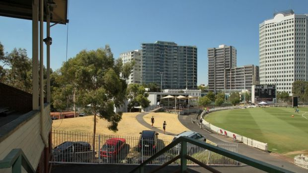 The Junction Oval.