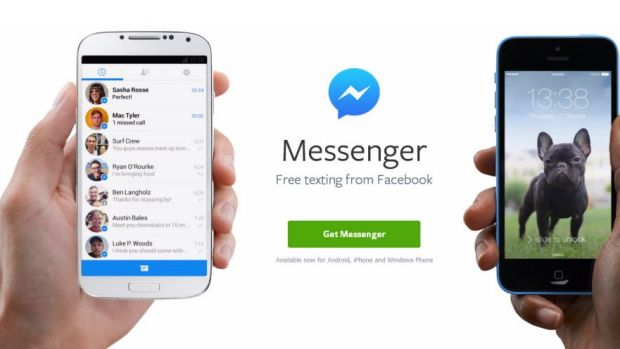 Facebook's Messenger app, which may soon enable peer-to-peer mobile payments.