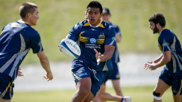 Allan Alaalatoa will make his Brumbies starting debut against the Lions.