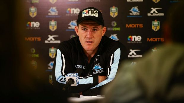 Sharks skipper Paul Gallen at the post-match media conference following the loss to the Roosters.