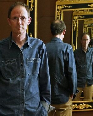 Sci-fi author William Gibson.
