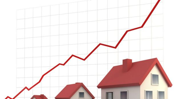 From a current median price of $895,342, a 10 per cent decline would equate to about $90,000.