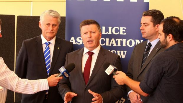"""More and better-resourced police than ever before"": Minister for Police MIke Gallacher."