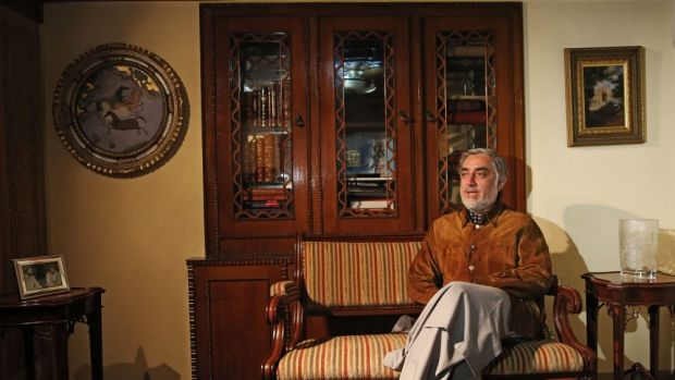 Afghan presidential candidate Abdullah Abdullah is the front-runner but doesn't have enough votes to avoid a runoff.