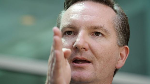 Opposition treasury spokesman Chris Bowen.