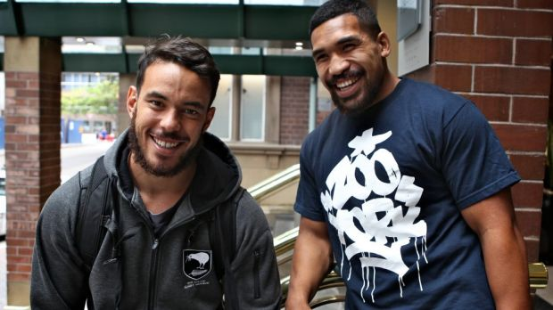 Rookie duo: Siliva Havali (right) and Isaac John are just two of six debutants named to face Australia on Friday.