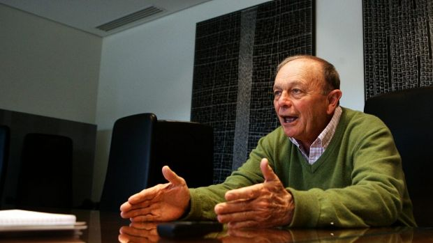 Gerry Harvey says the Harvey Norman franchise model isn't wrong just because it's unique.