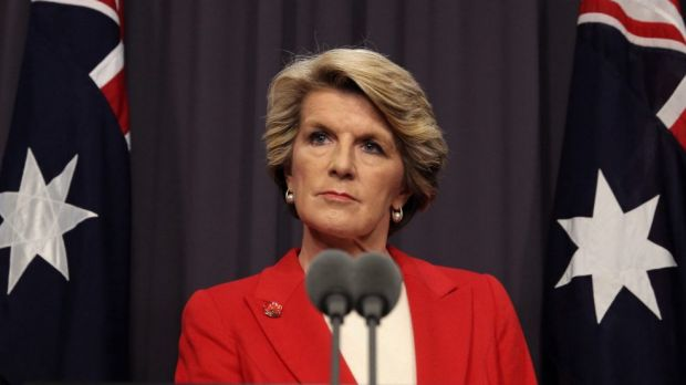 Lonely at the top: Foreign Minister Julie Bishop is the only woman in the cabinet and among the minority involved in the ...