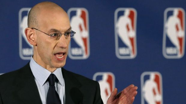 Rebuilding: NBA Commissioner Adam Silver has defended Philadelphia's tactics.