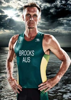 Neil Brooks has now turned vegan, given up alcohol, is back in shape and is now competing in Australian colours for ...