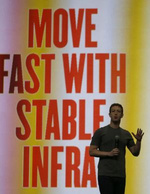 """Move fast with stable infra"": Mark Zuckerberg."