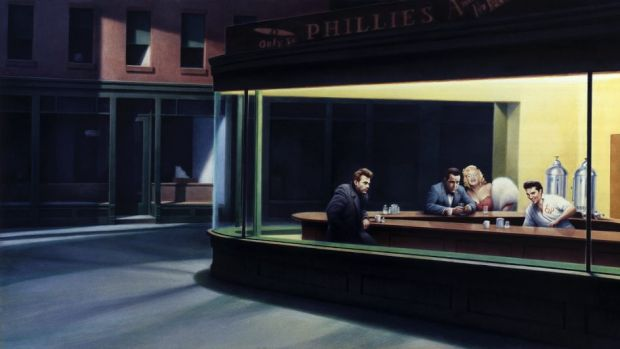Gottfried Helnwein's Boulevard of Broken Dreams.