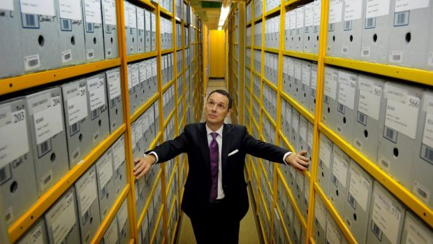 Director-General of the National Archives David Fricker says he is sympathetic to the view the government has not ...
