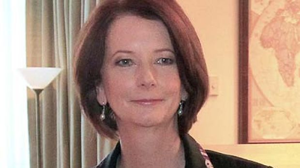 New deal ... Julia Gillard's major focus in her short time as PM so far has been to make peace with the mining industry.