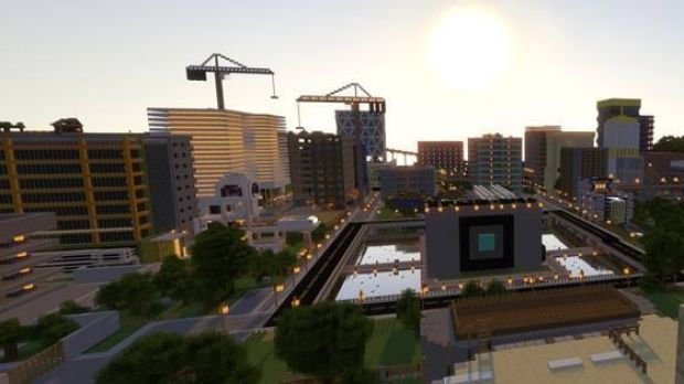 Gamers have been challeged to help redesign the Maroochydoore CBD using video game Minecraft.