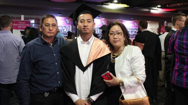 Raynor Manalad, who died after he was punched at a party on Saturday.