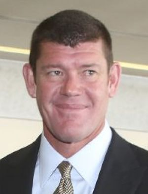 Fisticuffs: The black eye incident may be very costly for James Packer as he vies for business worth billions of dollars.