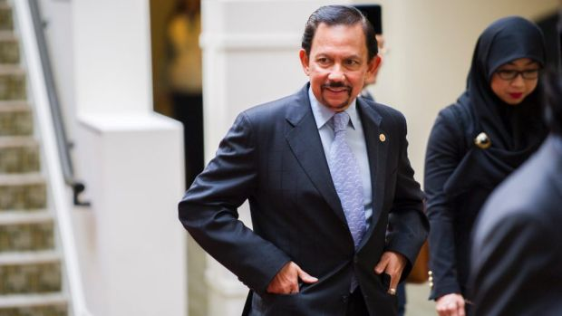 The Sultan of Brunei, Hassanal Bolkiah.