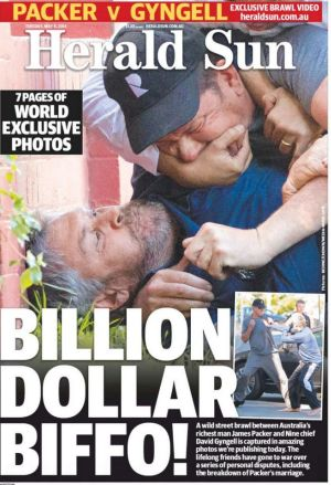 How News Corp papers used the  photographs the company bought for more than $200,000. The images were taken by Brendan ...