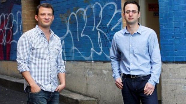 David Vitek and Robert Sharon-Zipser quit their full-time jobs ten years ago to found hipages.com.au.