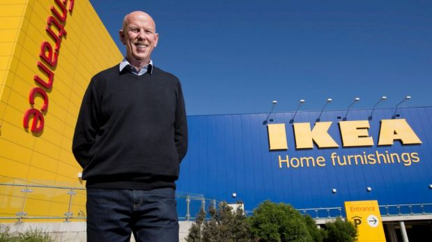 Coming to Canberra: Ikea Country manager David Hood has confirmed the new ACT store.