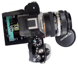 Versatile: The Fogta lens adapter enables favourite old lenses to be used on new compact cameras.