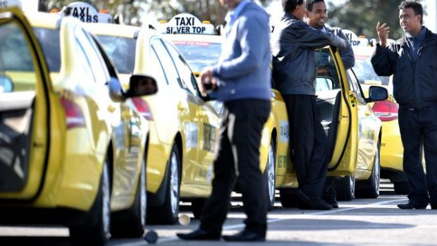 Taxi companies are unhappy about the spread of services such as Uber.