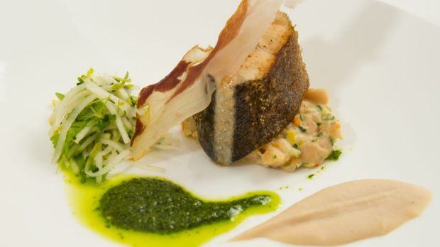 Tank to plate: an example of how the cod can be served.