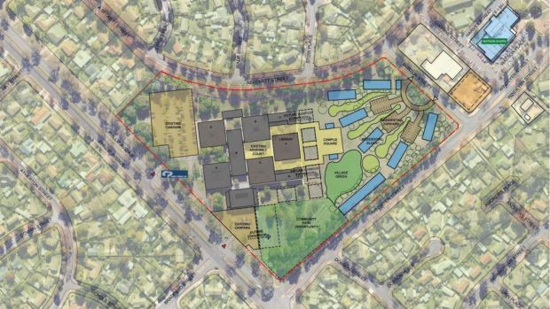 Big plans: The AIE is hoping to expand and transform its site at Canberra Technology Park.