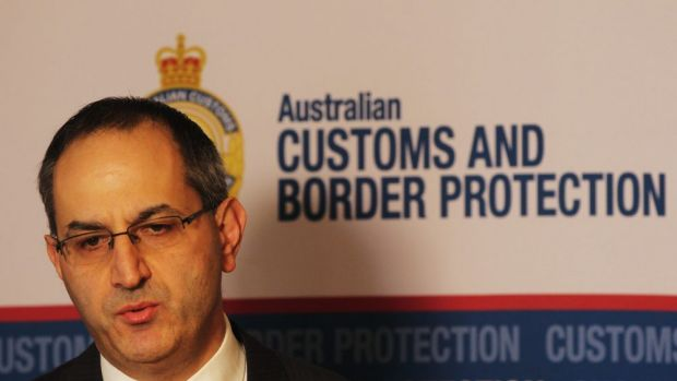 Customs and Border Protection head Michael Pezzullo.