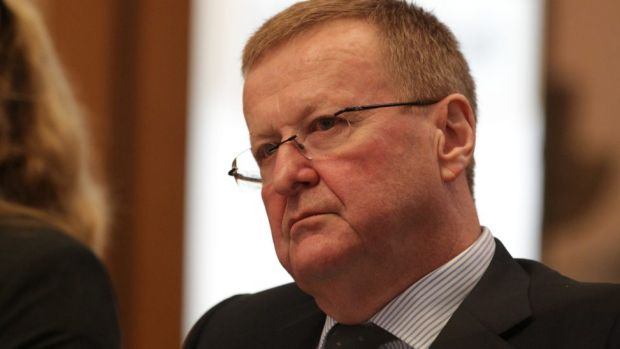 'Nonsense' .... John Coates says London is not a 'Plan B' for the IOC.